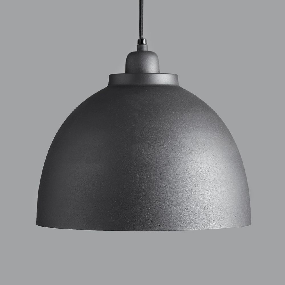 Cement Grey Pendant Light